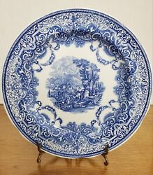 Spode, England Blue Room Collection Continental Views 10.5 Plate