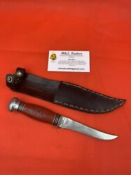 Original Wwii/ww2 American Engraved Remington 74 Fighting Knife Trench Knife