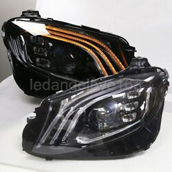 2016-2020 Year Led Front Lamps For Benz E200 260 300 E213 Full Led Headlights Jl