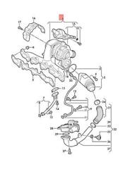 Genuine Audi A4 Allroad Quattro Exhaust Manifold With Turbocharger 04l253056h