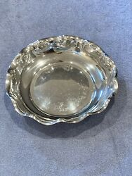 Vintage Silver Plated Serving Bowl By Reed And Barton 115