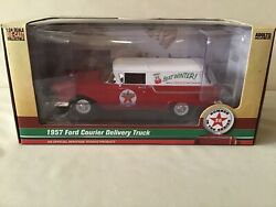 Texaco 2019 36 1957 Ford Courier Delivery Truck Regular Red Edition 2019 Dtd