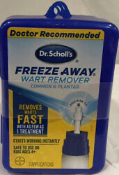 3 Dr. Scholland039s Freeze Away Wart Remover Common Plantar- 21 Treatments 3 Boxes