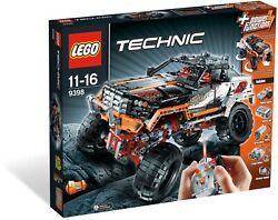 New Sealed Lego 9398 Technic 4x4 Crawler Big Rig Truck Monster Power Function