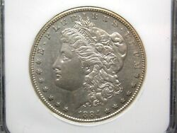1884 S Morgan Silver Dollar 1 Ngc Au58 East Coast Coin And Collectables Inc.