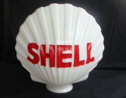 Reproduction Glass Shell Gas Pump Globe Petro Collectible