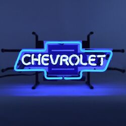 Chevrolet Bowtie Neon Sign / Chevy Signs / Chevy Neons / Chevrolet Neon Sign