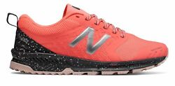 New Balance Women#x27;s FuelCore NITREL Trail Shoes Pink with Grey amp; Purple $38.35