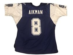Authentic Apex One Troy Aikman Dallas Cowboys Thanksgiving Football Jersey Xxl
