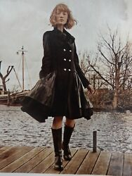 High Everyday Couture By Claire Campbell Welcome Navy Frock Coat 2k