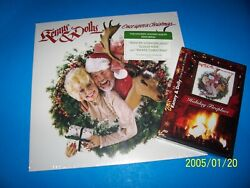 Kenny Rogers And Dolly Parton Christmas Lp 180 Gram + Fireplace Dvd New