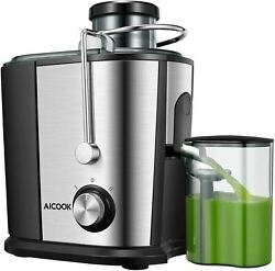 Centrifugal Juicer With Anti-drip Function Stainless Steel Juicers Easy To Clea