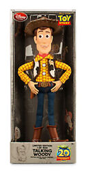 2015 D23 Expo Disney Store Toy Story Woody Limited Edition Le 400 Talking Doll