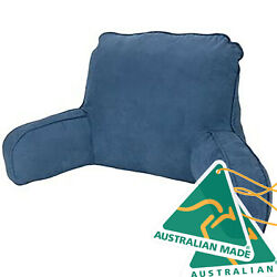 Made In Australia Navy Backrest Pillow By Easyrest Use When Reading On Ipad