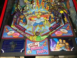 The Simpsons Pinball Party Lenticular/3d Pinball Apron Cards