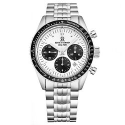 Revue Thommen 17000.6132 'aviator' Stainless Steel Chronograph Automatic Watch