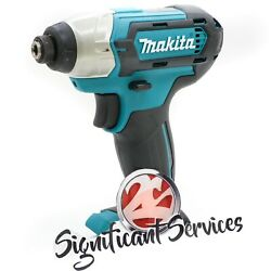 Makita Dt03z Cxt 12v Lithium Ion Cordless 1/4 Impact Driver Tool Only