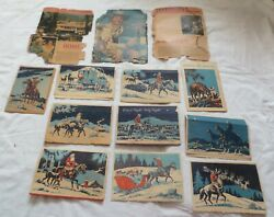 10 Vintage Gene Autry Christmas Cards 1950s + Radio Mirror Acticles