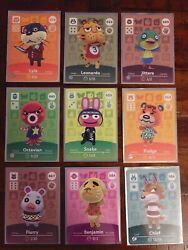 Animal Crossing Amiibo Cards - Select Villagers - Never Scanned - Near Mint