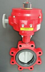 Bray 70-0061-113d0-536/a Series 70 Electric Actuator New + 4 Butterfly Valve