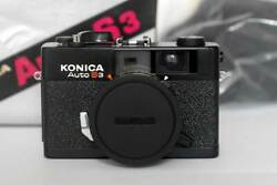 Film Tested Konica Auto S3 Rangefinder Camera Boxed
