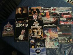 Sports Collectibles, Official Programs, Posters, Snap-on Stickers, Nice