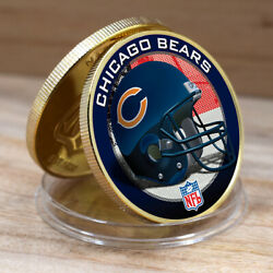 The Last Souvenir Coin Chicago Bears American Challenge Coins Round Coin 40mm