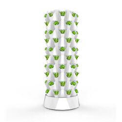 Vertical Hydroponic System Tower Garden 6 Led Grow Lights Masterblend Fertilizer