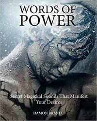 Words Of Power - Occult Books Occultism Witchcraft Grimoire Goetia Magick Ritual