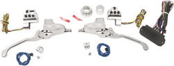 Performance Machine Can Bus Hand Control Complete Sets 11/16 Chrome