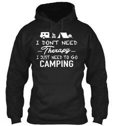 Teespring Camping Therapy Tshirts Hoodies Classic Pullover Hoodie - 100 Cotton