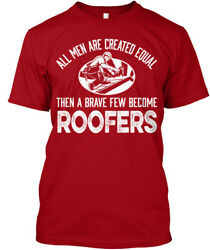 Teespring Shirts On Fire Brave Roofer Classic Tee 100% Cotton 100% Cotton