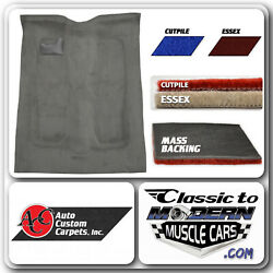 77-90 Gm B Body 4 Door And Estate Wagon Carpet Cutpile And Essex W/ Mass Backing
