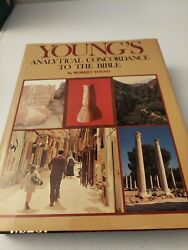 Young's Analytical Concordance To The Bible 1980 Complete W/ Dust Cover