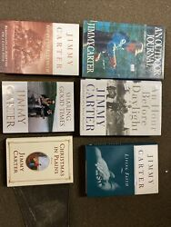 Lot Of 6 Jimmy Carter Books