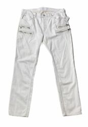 Brand New- Hudson Jeans Broderick Slouchy Skinny Fit Jeans Mens Size 36