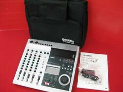 Yamaha Md4s Multitrack Md Recorder W/ Case And Manual Used From Japan F/s Rsmi