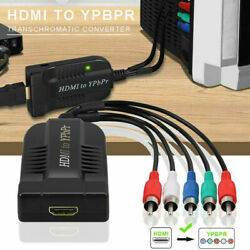 Hdmi To 1080p Component Video Ypbpr 5rca-rgb Converters R/l Audio Output
