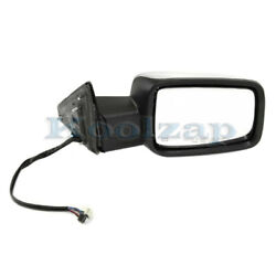 13-19 Ram 1500 Truck W/o Towing Mirror Power W/signal And Puddle Lamp Right Side