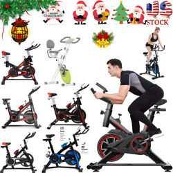 Stationary Exercise Bike Bicycle Cycling Fitness Cardio Workout Home Xmas Gfits