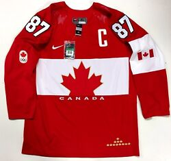 Sidney Crosby 2014 Sochi Gold Medal Team Canada Nike Jersey New With Tags
