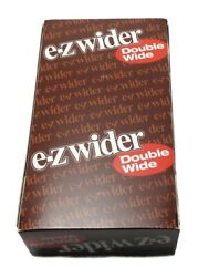 100 Authentic Product Ez-wider Double Wide Rolling Paper 24 Pack Full Box