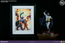Sideshow Exclusive Art Print Framed Batman Robin The Dynamic Duo 28 Of 200 Dc