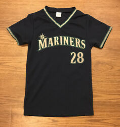 Vintage Seattle Mariners Raul Ibanez Boeing Sponsered Jersey Youth Size Medium