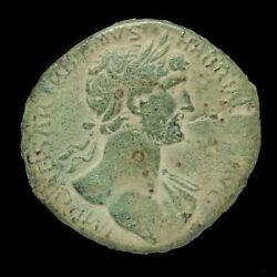 Hadrian Ae Sestertius - Fort Red - 34 Mm / 24 Gr.