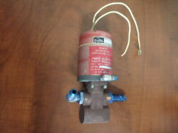 Cessna Electric Fuel Pump/ Auxilliary C291504-0201 Dukes P/n 4140-00-15 28v