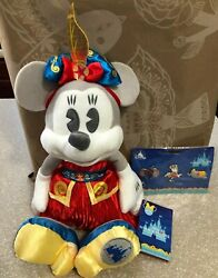 Minnie Mouse The Main Attraction Plush Dumbo The Flying Elephant And Pins Fr Sh