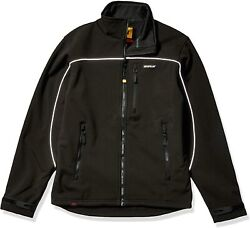 Caterpillar Mens Soft Shell Jacket Regular And Big And Tall Sizes