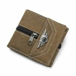 Slim Wallet Rfid Blocking Id Credit Card Money Coin Holder Leather Smart Cute S