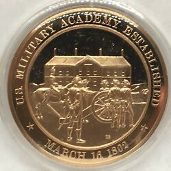 Franklin Mint American History Series1802 Us Military Academy Established
